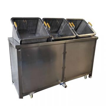 Electric Twin Tank Deep Fat Fryer with Two Baskets Chicken Fryer Seafood Deep Fryer