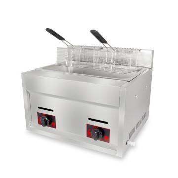 Automatic Gas Type Deep Fryer Snack Machine Potato Chip Machine