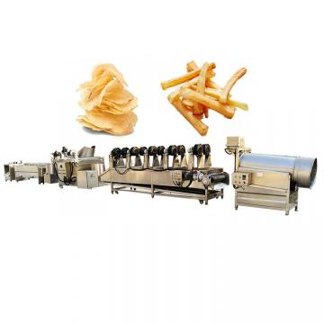 800kg/H Industrial Frying Machines Potato Chip Fries Machine for Sale