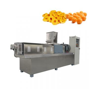 Full Automatic Twin Screw Extrusion Technology Fried Corn Pellet Tortilla Chips Snacks Food Extruder Machine Production Line