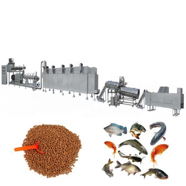 Best Price Floating Sinking Fish Feed Pellet Making Machine Fish Food Machine Aquatic Feed Bulking Device Production Line #1 image